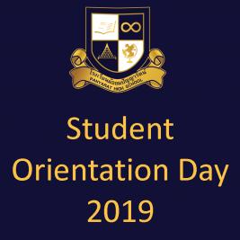 Student Orientation Day 2019